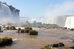 Iguasu waterfalls Royalty Free Stock Photos