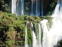 Iguazú-Fälle Stockfotografie