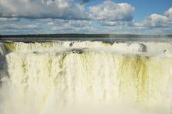 Iguazú spadki zdjęcia stock