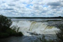 Iguazù Falls, Garganta del Diablo Royalty Free Stock Image