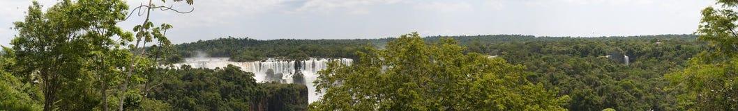 Iguazu, Iguazu Falls, waterfall, Garganta del Diablo, Devil's Throat, Argentina, South America. Iguazu, 13/11/2010: the rainforest and view of the Royalty Free Stock Photo