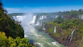 Iguazu daling-2 stock afbeelding
