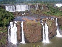 iguazu för 2 falls royaltyfri fotografi