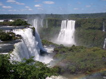 Iguazu fall Royalty Free Stock Photos
