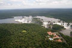 Iguazu Falls, Ámérica do Sul Fotografia de Stock Royalty Free