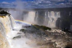 Iguazu Falls arkivbild