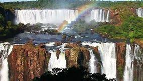 Iguazu Falls almacen de metraje de vídeo