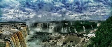 Iguazu Falls Foto de archivo libre de regalías