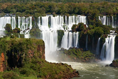 Iguazu Falls fotos de archivo