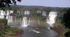 Iguazu Falls Photo stock