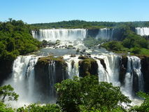 Iguazu Falls. Royalty Free Stock Photography