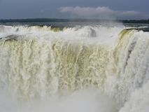 Iguazu Falls, Argentina. Royalty Free Stock Photo