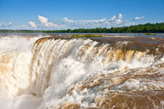 Iguazu falls, Argentina. Royalty Free Stock Photos