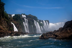 Iguazu Falls, Argentina Royalty Free Stock Photography