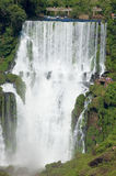 Iguazu Falls in Argentina. Iguazu Falls is one of the most visited places in Argentina and Brazil stock image