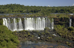 Iguazu Falls - Argentina / Brazil Border Stock Photo