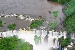 The Iguazu Falls in Argentina Royalty Free Stock Photography