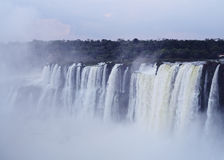 Iguazu Falls in Argentina Royalty Free Stock Photography