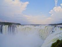Iguazu Falls in Argentina Stock Images