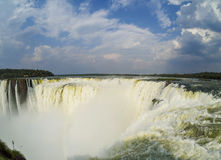 Iguazu Falls in Argentina Royalty Free Stock Photo