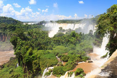 Iguazu falls, Argentina Royalty Free Stock Photo