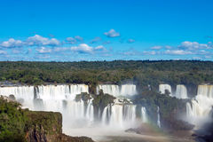 Iguazu falls in Argentina Royalty Free Stock Image