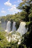Iguazu falls, Argentina, South America. Iguazu falls, or Iguassu falls from the Argentinian side, Argentina, South America royalty free stock photos