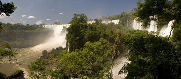Iguazu Falls, Argentine Photo stock