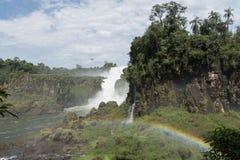 Iguazu falls. The Iguazu falls Argentine side Royalty Free Stock Image