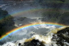 Iguazu Falls from Argentinean side Royalty Free Stock Photography
