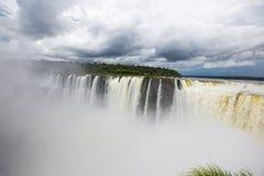 Brazil Iguazu. Iguazu Falls as seen from Argentina side Royalty Free Stock Photos
