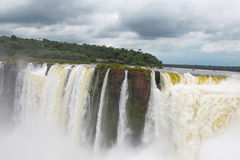 Iguazu Falls. As seen from Argentina side Royalty Free Stock Photos
