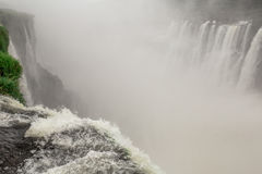 Iguazu Falls. As seen from Argentina side Royalty Free Stock Images