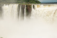 Iguazu. Falls as seen from Argentina side Stock Photography