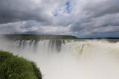 Brazil Iguazu. Iguazu Falls as seen from Argentina side Royalty Free Stock Photography