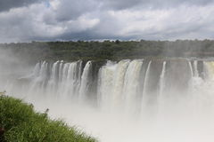 Iguazu Falls. As seen from Argentina side Royalty Free Stock Photography