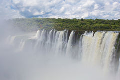 Iguazu Falls. As seen from Argentina side Royalty Free Stock Image