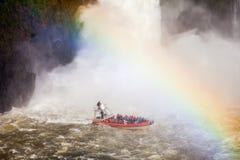 The Iguazu Falls Royalty Free Stock Photo