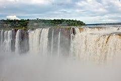 Iguazu Falls, Argentina, Curtain of water stock photography