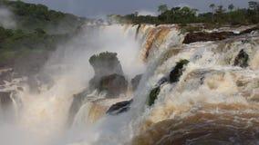 Iguazu Falls Brasile video d archivio