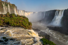 Iguazu Falls (Brasilien) Arkivbild