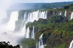 Iguazu Falls in Brasilien Lizenzfreies Stockbild