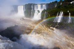 Iguazu Falls in Brasilien Lizenzfreie Stockfotos