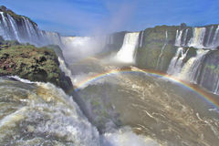 Iguazu Falls Brazil Royalty Free Stock Images