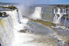 Iguazu Falls Brazil Royalty Free Stock Photo