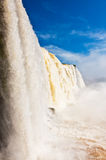 Iguazu falls, Brazil. Royalty Free Stock Photos