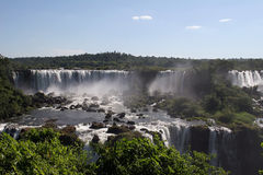 Iguazu Falls, Brazil Royalty Free Stock Photos