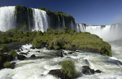 Iguazu Falls - Brazil / Argentina Border Stock Photo