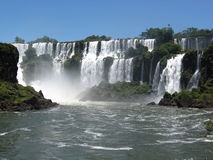 Iguaza Falls, Brazil, South America Stock Photos
