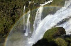 Iguazu Falls - Brazil & Argentine Border Royalty Free Stock Photography